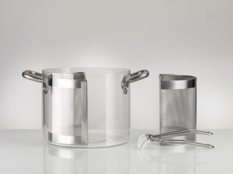KnPro Glass Pot