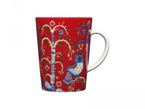 Taika Red Mug - 6 pcs