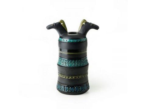 2 Heads Horse Pot