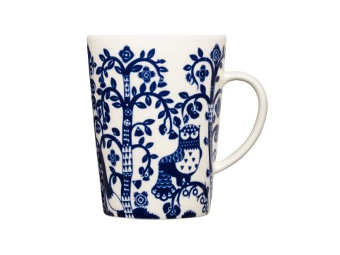 Taika Midnight Blue Mug - 4 pcs