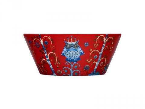 Taika Red Bowl - 6 pcs